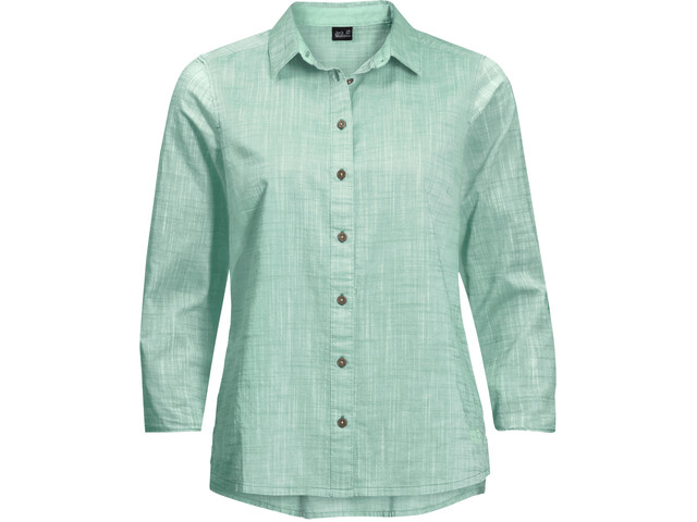 Jack Wolfskin Emerald Lake LS Shirt Women light jade